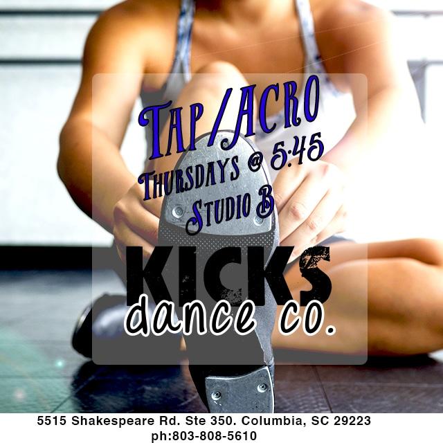 tap dance acro classes