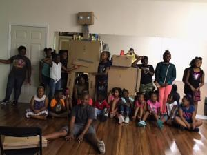Campers Build Robots